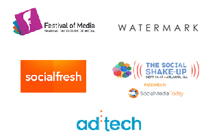 Festival of Media, SocialFresh, Ad Tech, The Social Shake-Up, Watermark